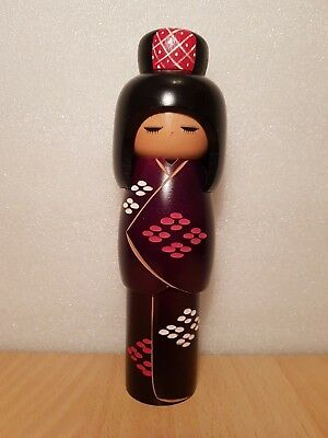 Japan Made Creative Kyoto Geisha Kokeshi by Kunio Miyakawa  (22 cm)