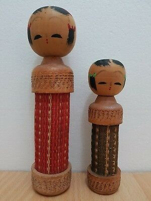 Japan Made One Pair Creative Kokeshi dolls (15-22 cm)