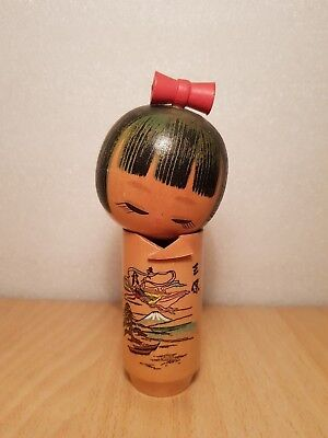 Japan Made Creative Deity Kokeshi doll (15 cm)