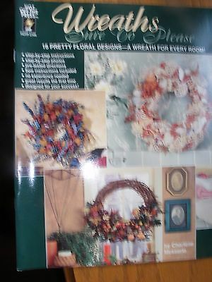 Wreaths Sure To Please Craft Pattern Book