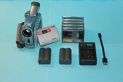 CANON MV690 MiniDV Digital Video Camcorder FULLY WORKING, 2 new batteries+5tapes