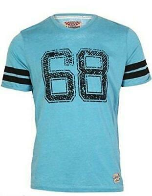 1688e64ecb0f Tokyo Laundry Mens Short Sleeve Burn Out T-shirt Tee Top With Collegiate  Varsity