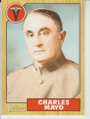 CHARLES MAYO 2009 Topps Heritage card # 67 General Surgery