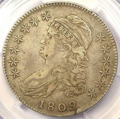 1809 Capped Bust Half Dollar 50C O-111 - PCGS XF40 (EF40) - Rare Certified Coin