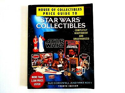 House of Collectibles Price Guide To Star Wars Collectibles Fourth Edition
