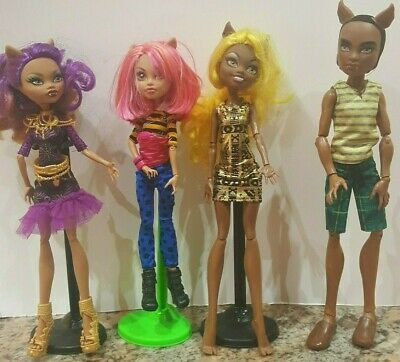 Monster High Wolf Pack Trouble Dolls