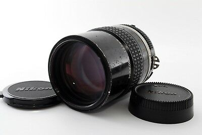 Nikon Ai NIKKOR 135mm F/2.8 Middle Telephoto MF Lens from JAPAN