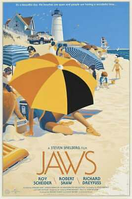 """Jaws Huge Poster - 36""""x24"""" (#6351)"""