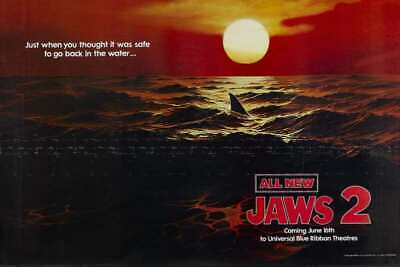"""Jaws 2 Huge Poster - 36""""x24"""" (#6040)"""