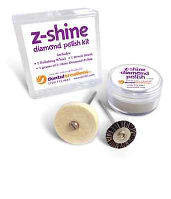 Z-Shine Diamond Polish Kit Especially Designed for e.max & Zirconia Crowns