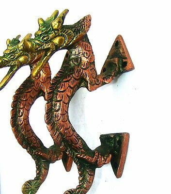 A set of Attractive Solid brass made Chinese Dragon Shape Door Handles India