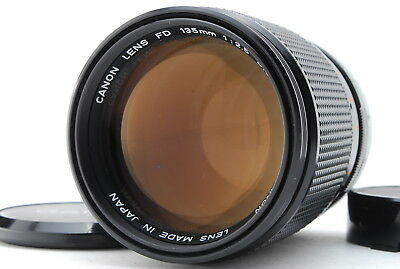 [EXC+++] Canon FD 135mm F/2.5 S.C SC Telephoto Manual Focus Lens From Japan