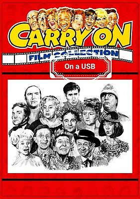 Carry On - Carry On Films On A 32G Plug And Play Usb Stick Play Anywhere