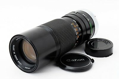[Appearance MINT] Vintage Canon FD 100-200mm f/5.6 S.C. MF Zoom Lens from JAPAN
