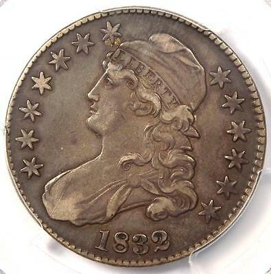 1832 Capped Bust Half Dollar 50C O-110 - PCGS XF40 (EF40) - Rare Certified Coin!