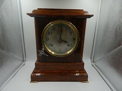 Seth Thomas Sonora Chime Adamantine Mantel Clock Antique