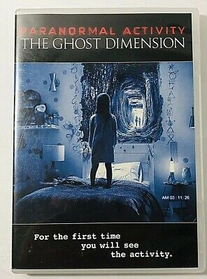 Paranormal Activity The Ghost Dimension DVD  2016