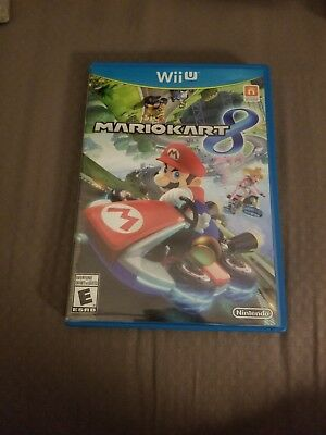 Mario Kart 8 Nintendo Wii U 2014 Case And Cover Art Only
