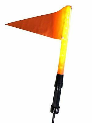 Amigo Alert Light Safety Flag For Mobility Power Scooters, Wheelchairs & Bic -BA