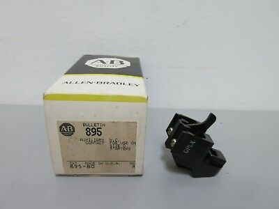 New Allen-Bradley 895-B0 Series A Auxiliary Contact