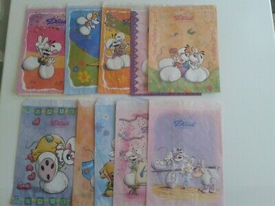 Diddl 10 sachets anciens format A5