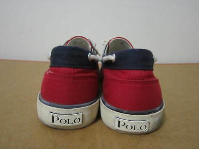 Ralph Lauren Polo shoes vulcanized boat slip on Lander 9.5 vtg