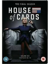 House Of Cards Season 6 New Sealed Dvd