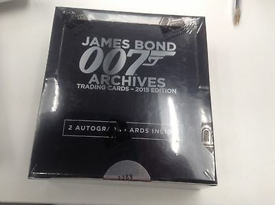 James Bond 007 Archives 2015 Edition Trading Card Box Factory sealed