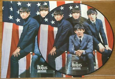 The Beatles – Hollywood Bowl, USA, August 1965, PICTURE DISC w/COVER, Rare, NEW!