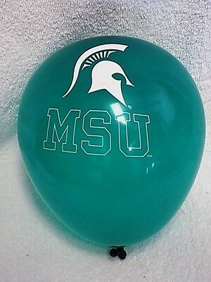 Michigan State University Spartans MSU BALLOONS B-DAY PARTY 12 graduation school