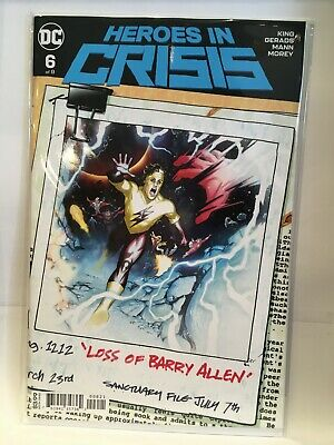 Heroes In Crisis #6 Cover B NM- 1st Print DC Comics