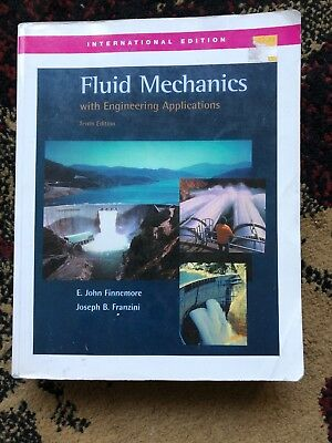 FLUID MECHANICS WITH Engineering Applications By Daugherty 1954 loc
