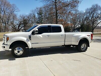 2019 Ford F-350 Limited 2019 Ford F350 Limited White Tri-Diamond tri-coat