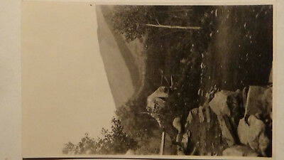 Rppc Postcard SAWTOOTH IDAHO  MINING CAMP, MINERS, TENT, GHOST TOWN VIEW