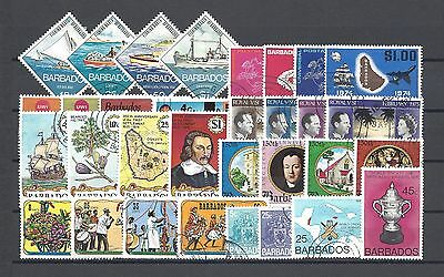 BARBADOS 1973-76 Commemorative Sets Cat £25.40