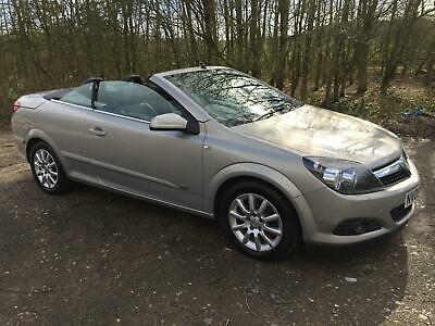 2008 Vauxhall Astra 1.9CDTi Coupe Twin Top Sport in Beige