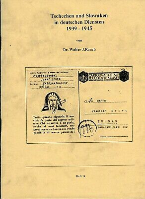 Germany Czech And Slovakia In German Official Stamps 1939-1945 Handbook Rauch