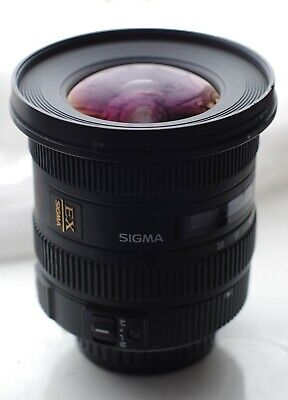 Sigma EX 10-20mm F/3.5 HSM DC Lens For Pentax with extras