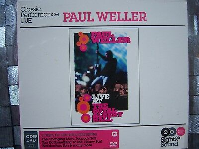 Paul Weller ~ Live At The Royal Albert Hall / Sight & Sound (Cd&dvd) Sealed