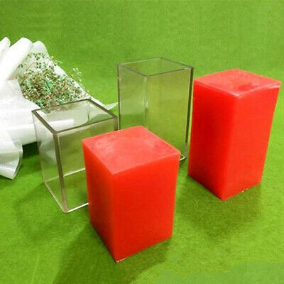 Polycarbonate square pillar candle mould