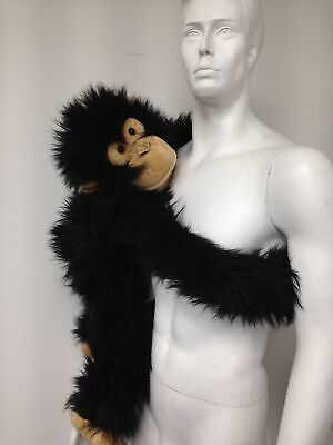 "Cheeky Chimp The Puppet Company Large 32"" Full Body Hand Puppet Monkey Ape #831"