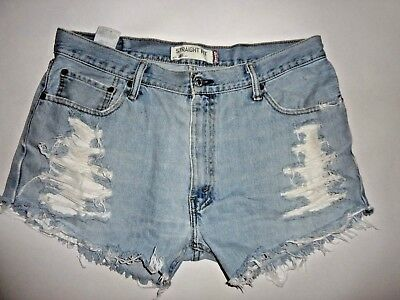 "Women's vintage distressed 505"" shorts size 12/36"