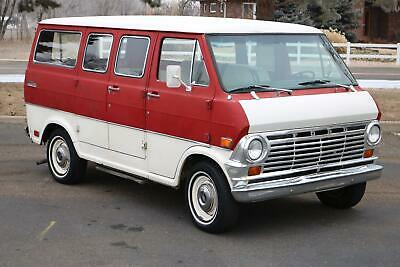 1969 E-Series Van -- 1969 Ford Econoline Chateau - 1 Owner - All Original - 302 V8 - 3 Speed Manual