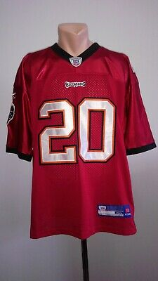 e1fed8ea1d0 Ronde Barber # 20 Tampa Bay Buccaneers Jersey NFL Jersey Reebok Rugby Size  48