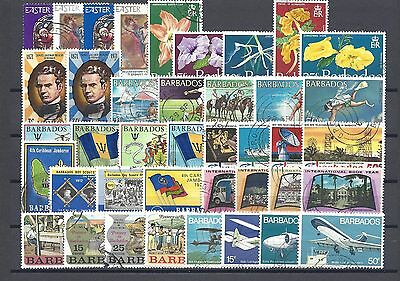 BARBADOS 1971-73 Commemorative Sets Cat £19.75