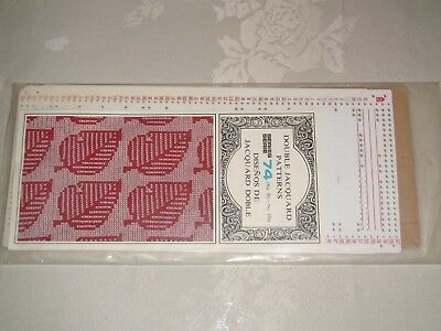 Knitting Machine Accessory's Punch Cards For Standard Gauge Machines Series 74