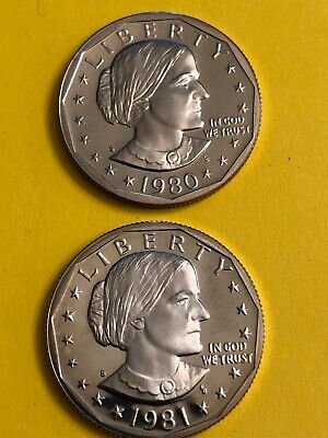 Susan 1980 S 1981 S Proof Free Shipping