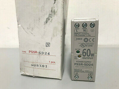New IDEC PS5R-SD24 24VDC Ouput Power Supply