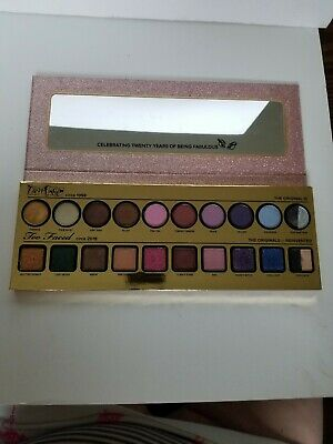 Too Faced Then & Now Eyeshadow Palette Cheers 20 Years Collection AUTHENTIC READ