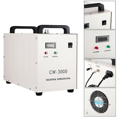 CWType 220V Industrial Water Chiller For Laser Engraver Machine w/S&A Water Pump